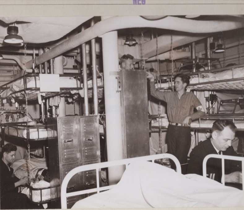 IA sick bay 13 May 43